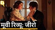 Zero Movie Review: Shah Rukh Khan, Katrina Kaif, Anushka Sharma