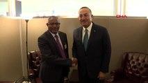 Çavuşoğlu, etiyopya dışişleri bakanı gedu andargachew alene ile görüştü