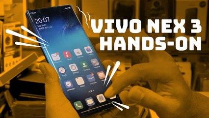 Hands-on with Vivo NEX 3