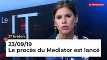 JT Breton du 23 septembre 2019 : le procès du Mediator est lancé