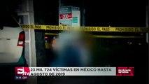 Violencia al alza, repuntan homicidios en agosto