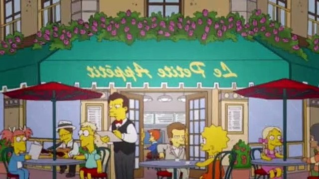 The Simpsons Season 23 Episode 13 - The Daughter Also Rises