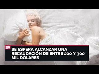 Subastarán fotos de Marilyn Monroe desnuda