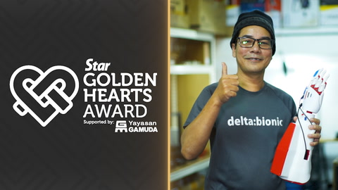Golden Hearts Award 2019: One hand at a time