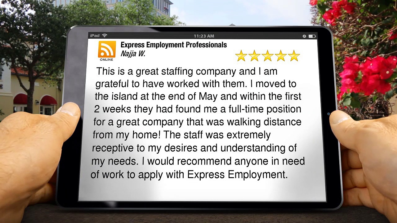 Staffing Solutions  in Pearl City, HI | Incredible 5 Star Review by Najja W.