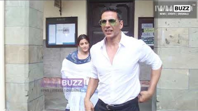 Akshay Kumar shoots his 1st music video Filhaal with Nupur Sanon and Ammy Virk