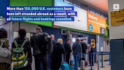 Thousands of Travelers Left Stranded After Collapse of Thomas Cook Travel Agency