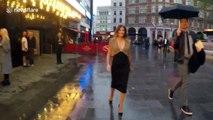 Desperate Housewives star Teri Hatcher visits London's West End