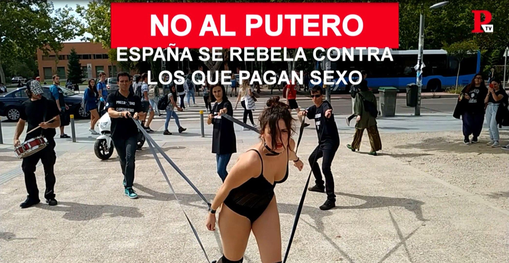 España se rebela contra los que pagan por sexo