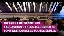 Le gros moment de solitude de Kim Kardashian et Kendall Jenner aux Emmy Awards