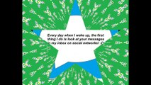 Every day when wake up, I look your messages at inbox [Quotes and Poems]