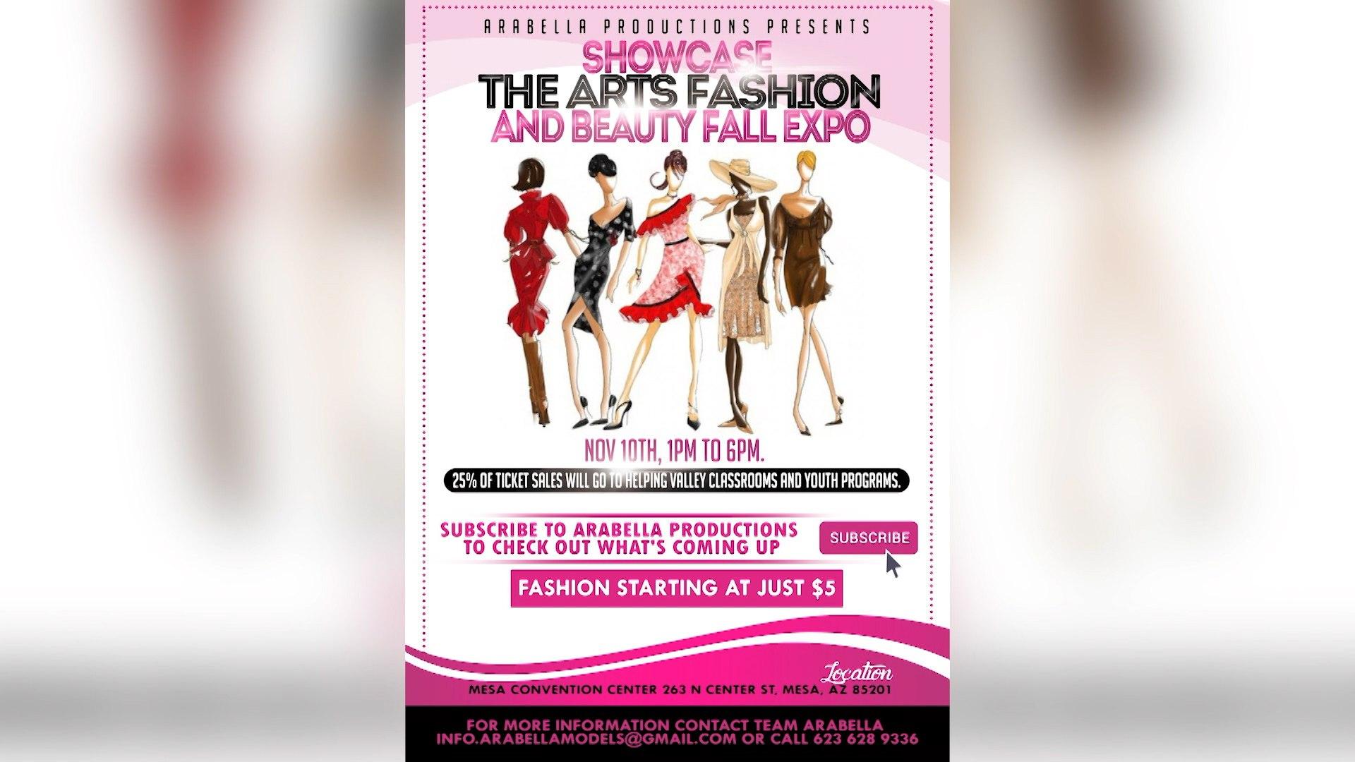 Showcase the Arts Fashion and Beauty Expo