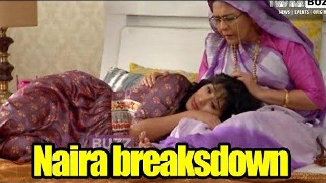 Naira breakdowns in front of Badi Dadi in Yeh Rishta Kya Kehlata Hai