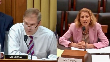 Jim Jordan Destroys Smug Democrat Witness on Russian Collusion Hoax