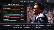 5 Things - Brady joins Brees in all-time touchdowns list