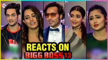 TV Celebs On Bigg Boss 13 | Rashmi Desai, Vikas Gupta, Anita Hassanandani | Golden Glory Awards 2019
