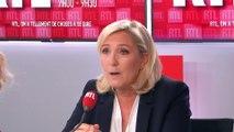 """PMA pour toutes : """"L'État ne peut pas mentir sur un acte d'état civil"""", dit Le Pen sur RTL"""