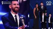 Messi Bags Record Sixth FIFA Best Player Of The Year Award