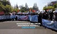 Pantauan Aksi Demo Mahasiswa Seluruh Indonesia Tolak RKUHP dan RUU KPK