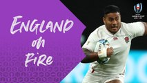 Tuilagi steamrolling try at Rugby World Cup 2019 - England v Tonga