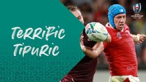 Player Focus : Tipuric's powerful display v Georgia