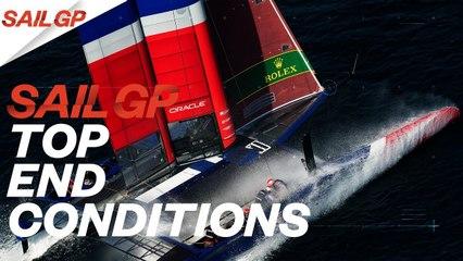 SailGP Explained  Top End Conditions