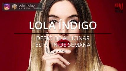 Las redes sociales anuncian que Lola Índigo no está viva