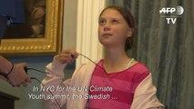 Greta Thunberg: Political leaders 'need to take their responsibility'