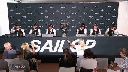 Closing Press Conference  Marseille SailGP 2019  SailGP
