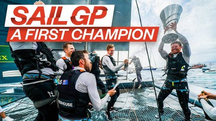 A Champion Is Crowned  Story of Marseille SailGP  SailGP