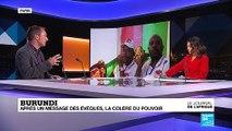 Burundi : après un message des évêques, la colère du pouvoir