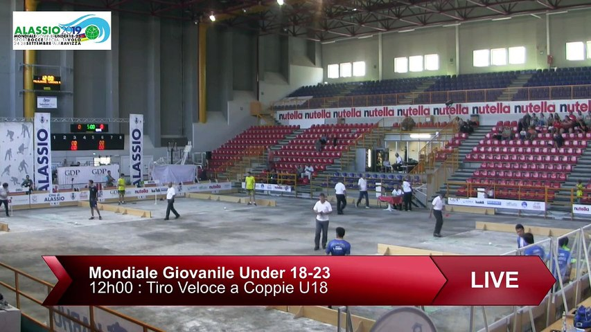Q1, tir rapide en double U18, Mondial Jeunes U18 et U23, Alassio 2019