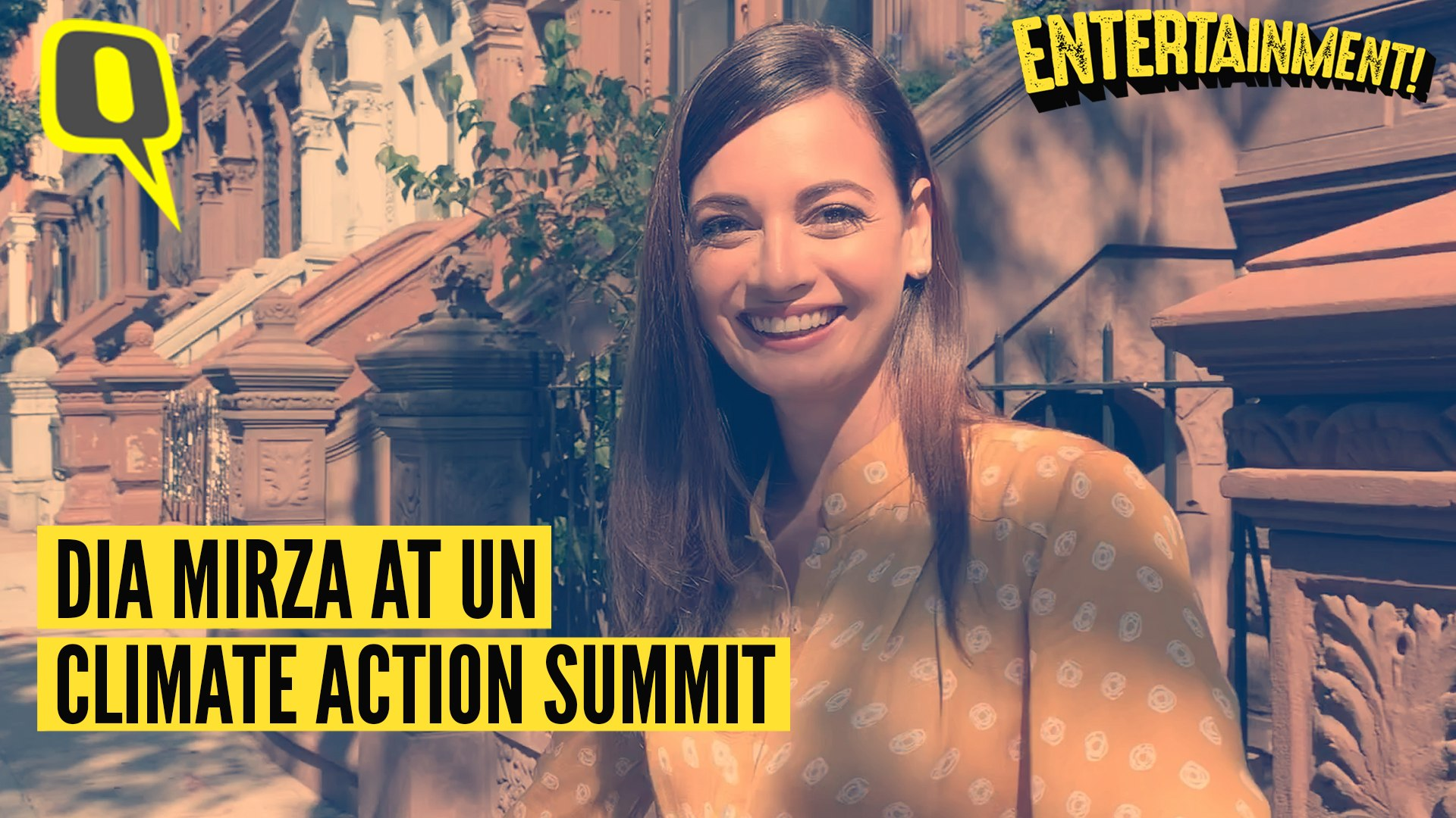 Dia Mirza Attends UN Climate Action Summit 2019
