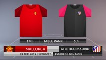 Match Preview: Mallorca vs Atletico Madrid on 25/09/2019