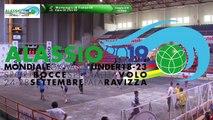 Premières parties de poules, Double U18, Mondial Jeunes U18 et U23, Alassio 2019