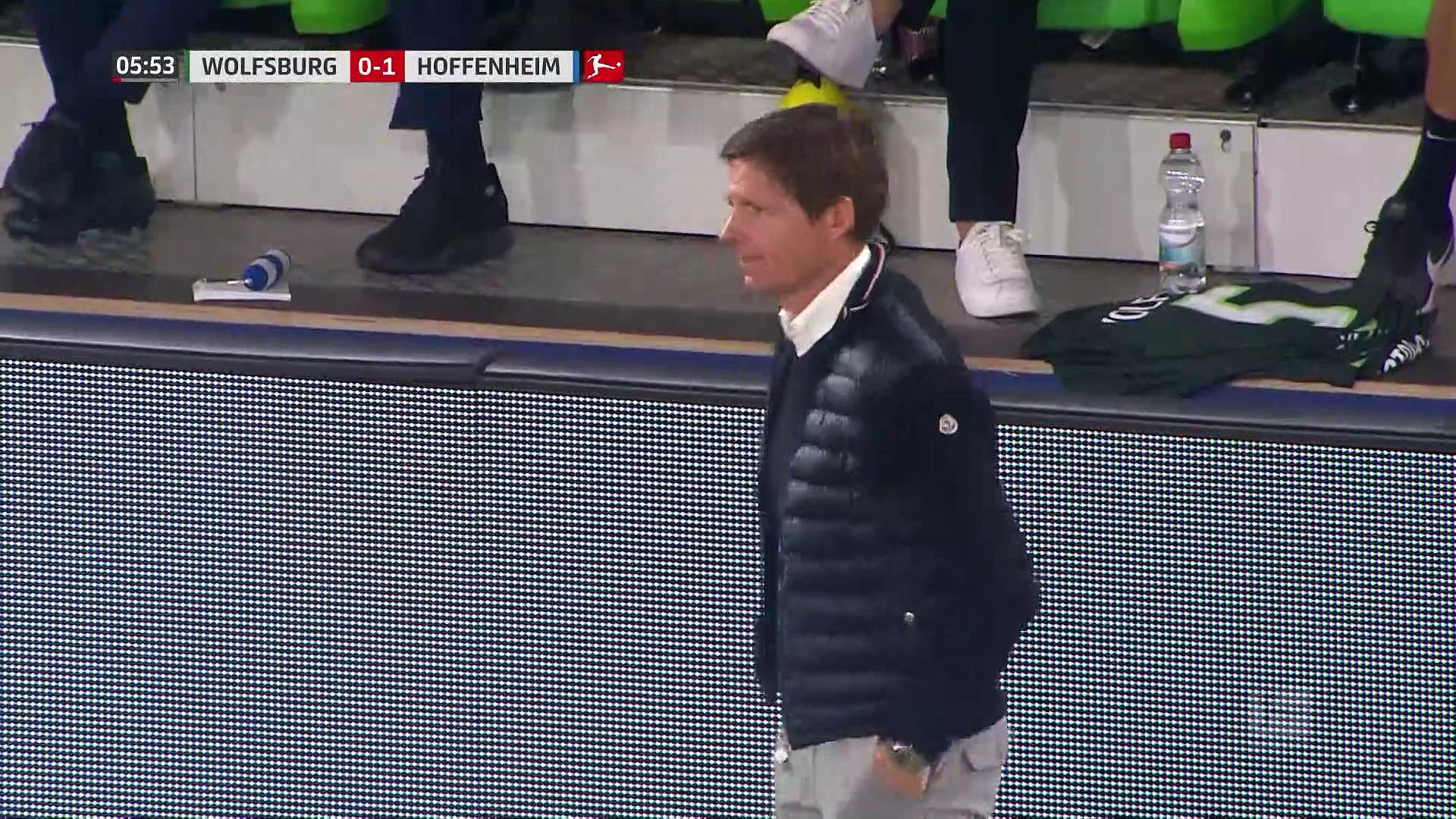 5. Hafta / Wolfsburg - Hoffenheim: 1-1 (Özet)