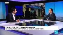 Thomas Cook en faillite : 600 000 touristes et 22 000 emplois concernés