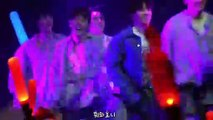 Hanbin cute mistake on stage mixed up Bling Bling rap in Korean and Japanese and members reaction