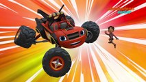 Blaze et les Monster Machines | Ninja Machine | NICKELODEON JUNIOR