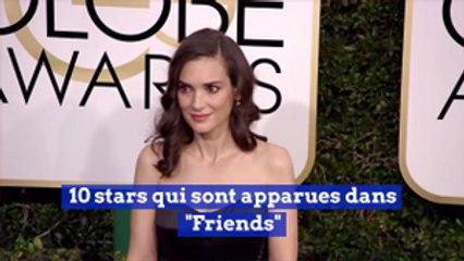 10 stars qui sont apparues dans 'Friends'