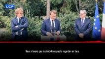[DOCUMENT LCP] Demandeurs d'asile : ce que le Président a vraiment dit aux parlementaires de la majorité