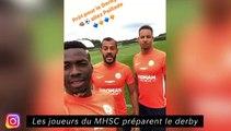 Les joueurs du MHSC préparent le derby - Amine Harit redouble d'effort à Schalke