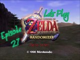 Lets Play - Legend of Zelda - Ocarina of Time Randomizer Master Quest Edition - Episode 27 - Spirit Temple Part 1