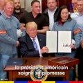 """""""America first"""" : Donald Trump impose ses taxes sur l'acier et l'aluminium, au risque d'une guerre commerciale"""