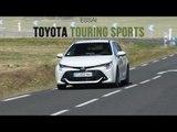 Essai Toyota Corolla Touring Sports hybride 122h Design 2019