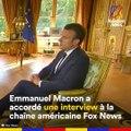 """Emmanuel Macron a parlé de sa """"relation spéciale"""" avec Donald Trump"""