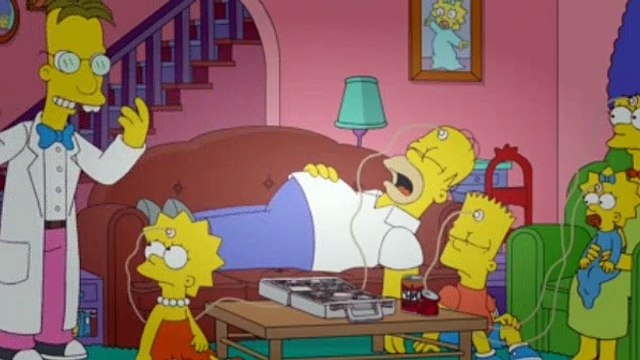 The Simpsons Season 23 Episode 16 - How I Wet Your Mother
