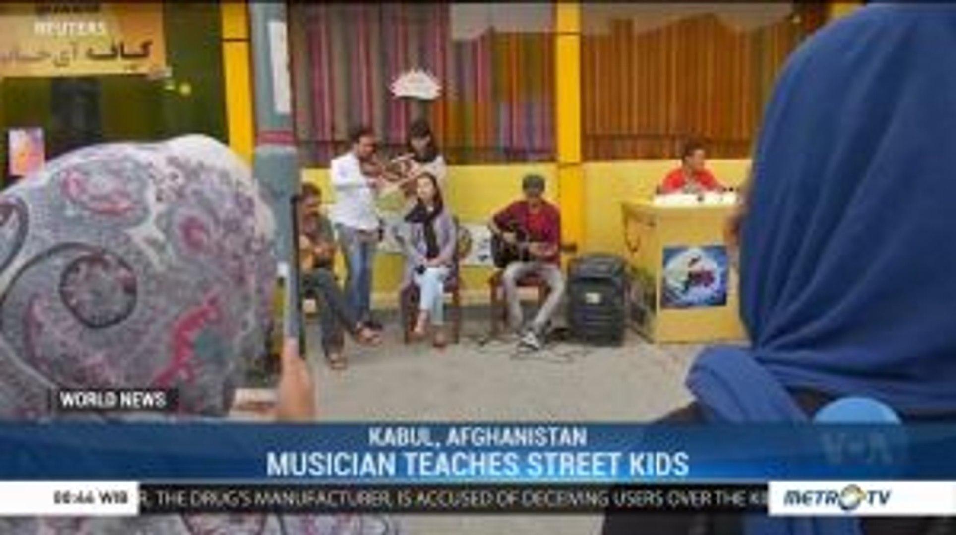 Kabul Musician Teaches Street Kids