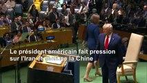 Trump à l'ONU: patriotisme, anti-socialisme, commerce avec la Chine et Venezuela