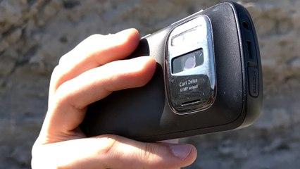 Filtro de densidad neutra en el Nokia 808 Pureview